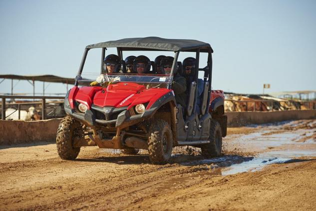 2015 Yamaha Viking VI Red Action 04