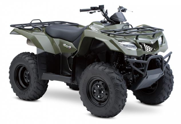 2015 Suzuki KingQuad 400 ASi Green