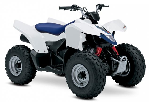 2015 Suzuki QuadSport Z90 Front Left