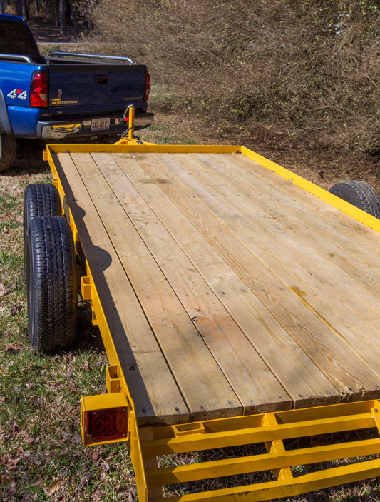 ATV Trailer Restoration Platform
