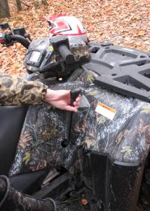 Polaris inline shifting is easy and smooth.