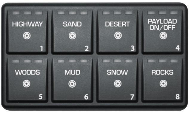 JRi Suspension Keypad