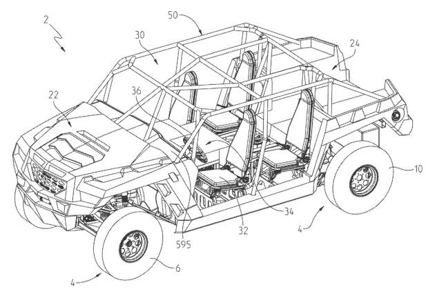 Polaris Utility Patent Front Left
