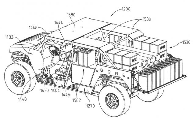 Polaris Utility Patent Military Vehicle