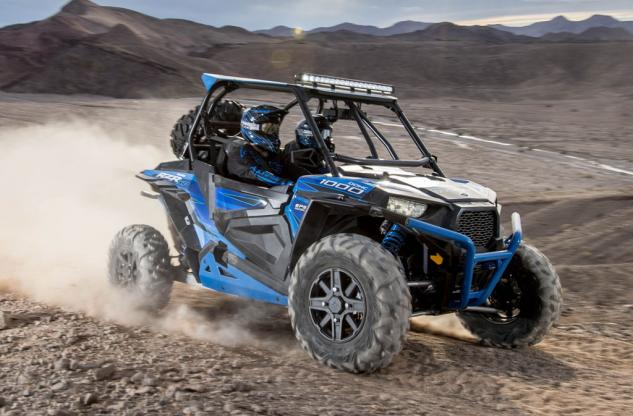 2015 RZR XP 1000 Desert Edition Action
