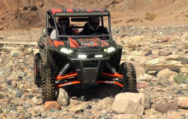 Teixeira Tech XGC RZR XP 1000 Action Front