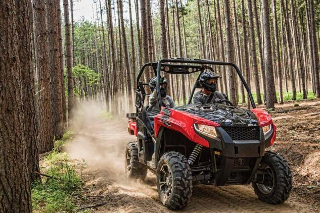 2015 Arctic Cat Prowler 700 XT Action