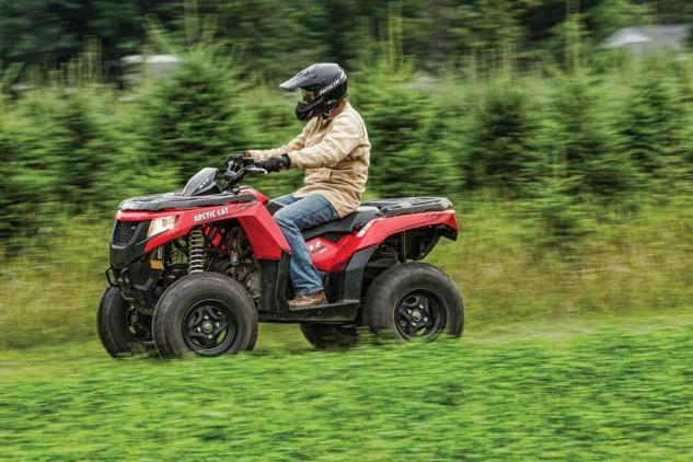 2015 Arctic Cat XR 500 Action