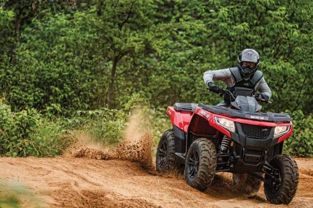 2015 Arctic Cat XR 700 XT Action
