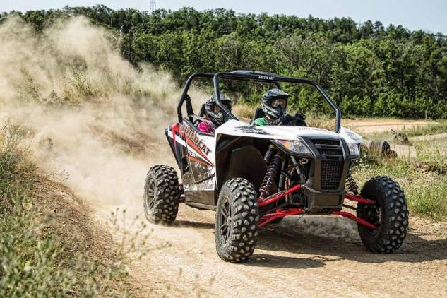 2015 Wildcat Sport LTD Action