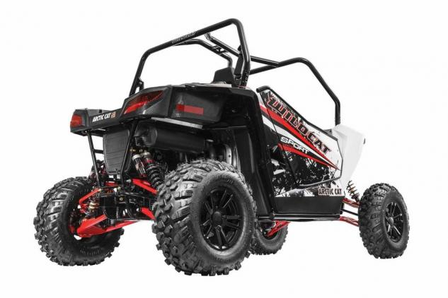 2015 Wildcat Sport LTD Low Rear