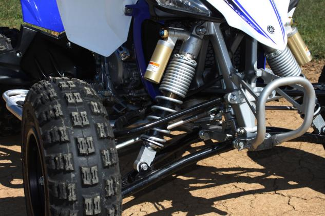 2014 Yamaha YFZ450R Project Front Suspension