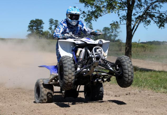 2014 Yamaha YFZ450R Project Wheelie