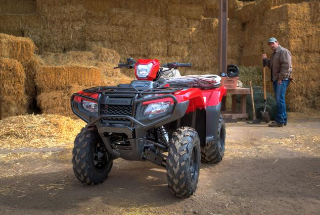2015 Honda Foreman Rubicon Action Working