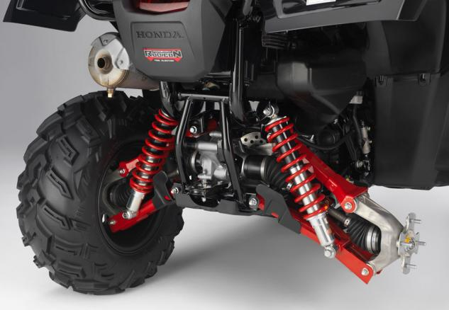 2015 Honda Foreman Rubicon Rear Suspension