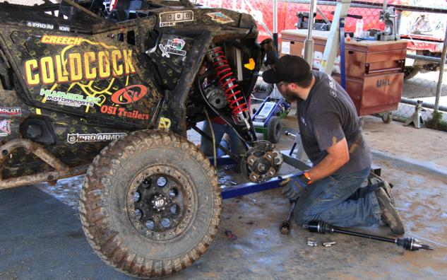 Terracross RZR Repairs