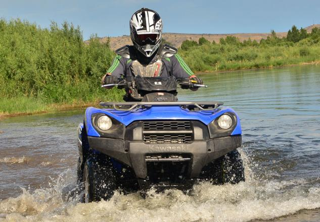 2014 Kawasaki Brute Force 750 EPS Action Water