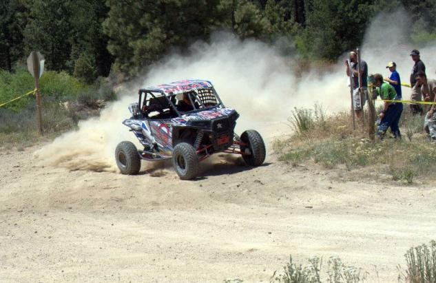 UTV Rally Racing Action Corner
