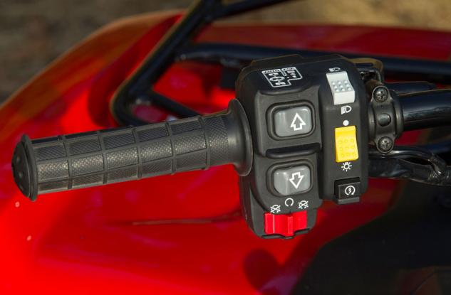 2015 Honda FourTrax Rancher Shifter