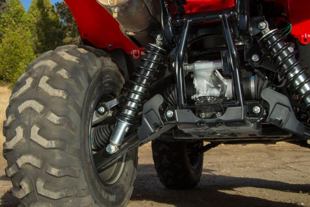 2015 Honda FourTrax Rancher Suspension