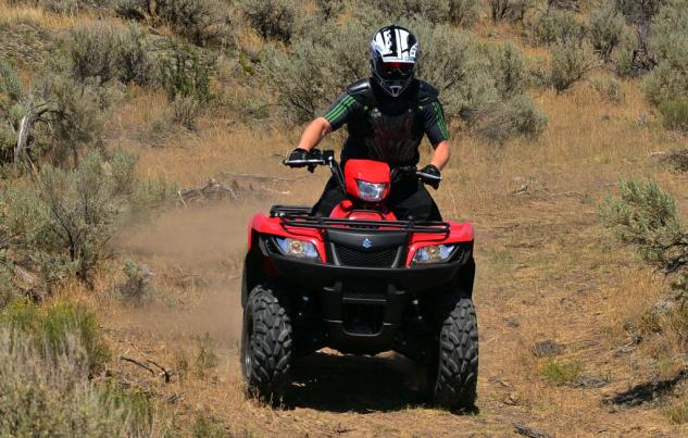 2014 Suzuki KingQuad 750 EPS Action Front