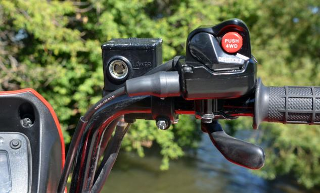 2014 Suzuki KingQuad 750 EPS Differential Lock and 4WD Switch