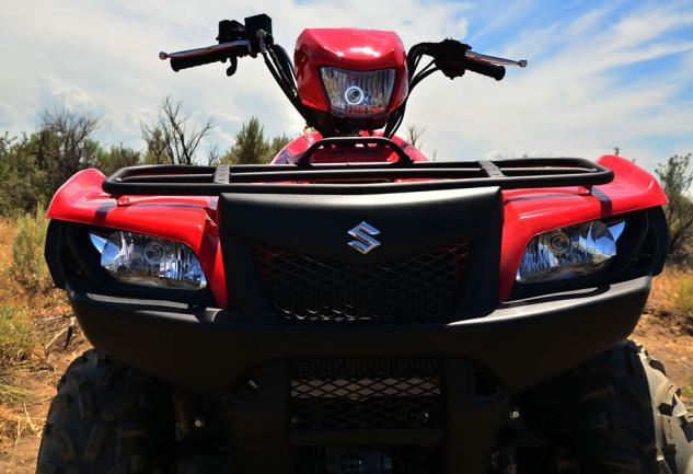 2018 suzuki king quad 750 review. brilliant king 2014 suzuki kingquad 750 eps front three frontmounted lights help show the  way when sun goes down we found handlebarmounted light especially  throughout 2018 suzuki king quad review