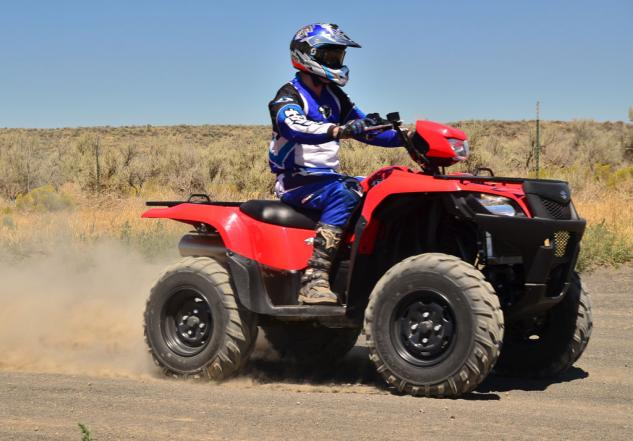 2014 Suzuki KingQuad 750 Speed