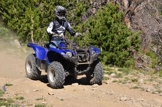 2014 Yamaha Grizzly 700 EPS Trail