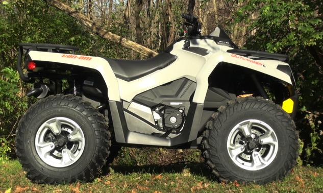 2015 Can-Am Outlander L 500 Profile
