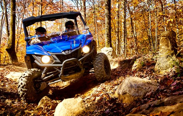 2015 Yamaha Wolverine R-Spec Action Front