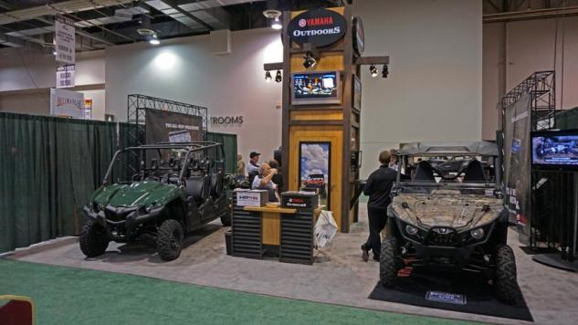 SHOT Show Yamaha Booth