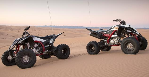 2015 Yamaha YFZ450R SE and Raptor 700R SE