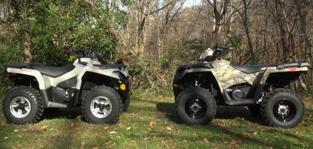 2015 Polaris Sportsman 570 Eps Vs Can Am Outlander L 500 Dps