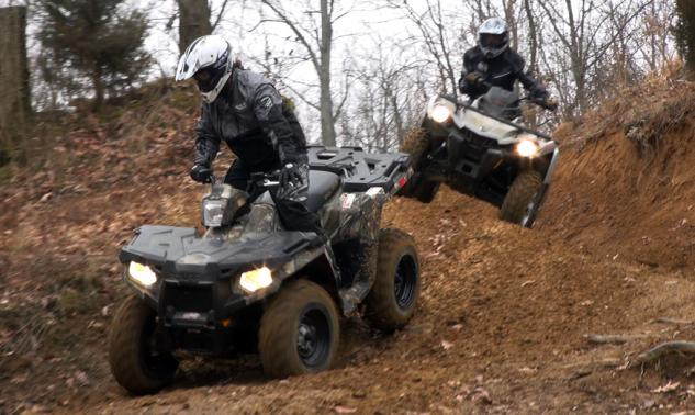 2014 4x4 ATV Value Shootout Action Pair