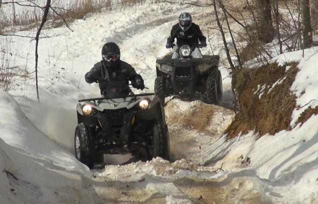 2014 4x4 ATV Value Shootout Action Snow