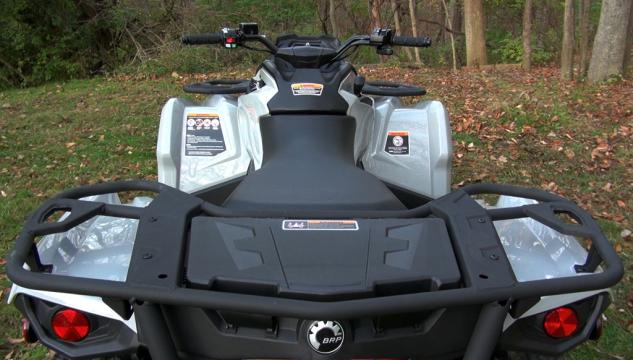 2015 Can-Am Outlander L 500 Rear Rack