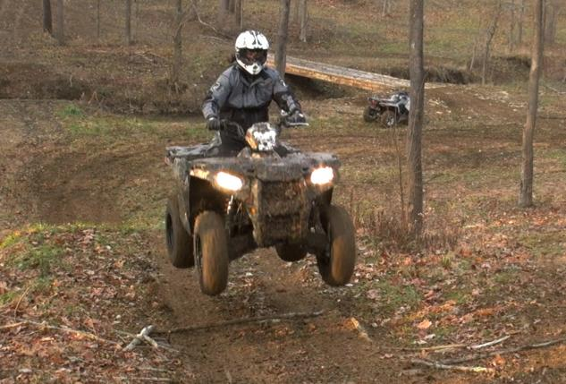 2015 Polaris Sportsman 570 Action Jump