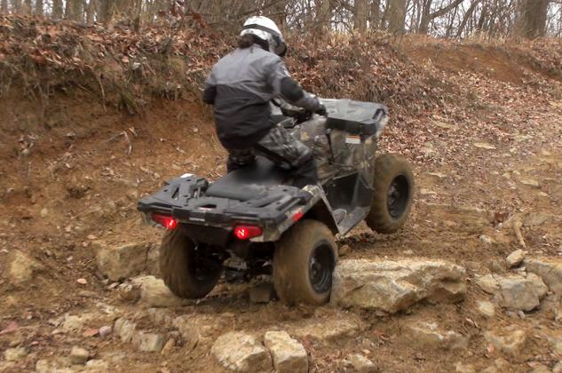 2015 Polaris Sportsman 570 Action Climbing