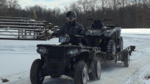 2015 Polaris Sportsman 570 Action Towing