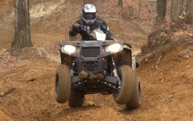 2015 Polaris Sportsman 570 Action Wheelie