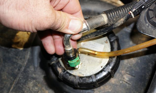 Polaris Ranger Fuel Line Removal how to change your utv fuel pump atv com 2004 polaris ranger fuel pump wiring diagram at bayanpartner.co