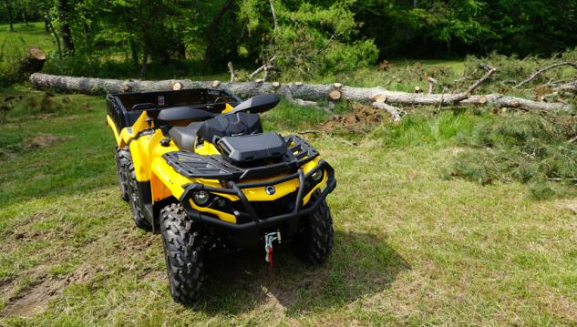 2015 Can-Am Outlander 6x6 1000 XT Beauty