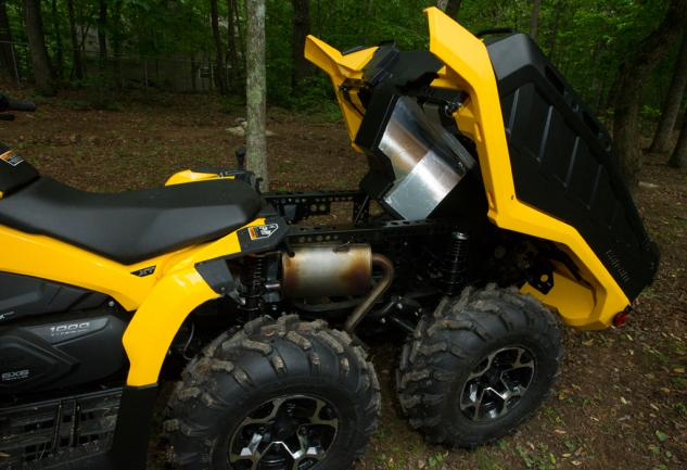 2015 Can-Am Outlander 6x6 1000 XT Dump