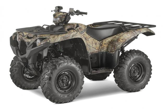 2016 Yamaha Grizzly Camo