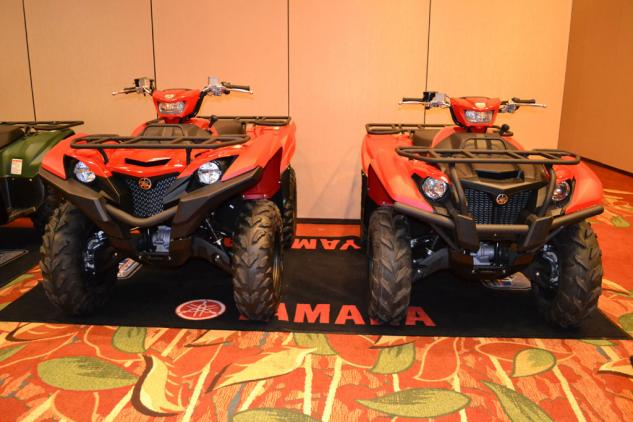 2016 Yamaha Kodiak vs Grizzly