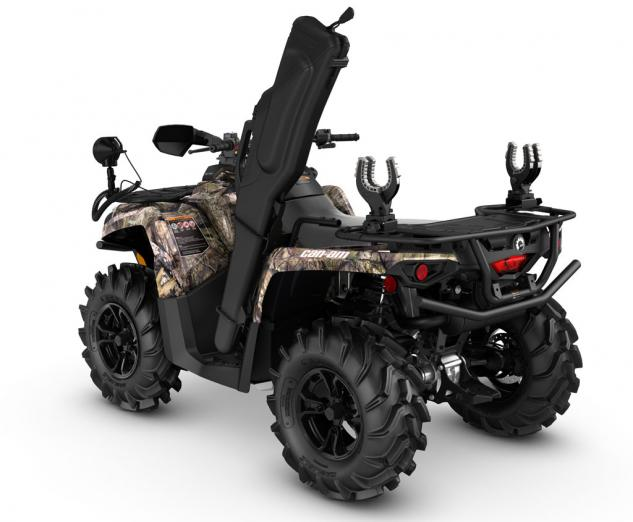 2016 Can-Am Outlander L Mossy Oak Hunting Edition Left Rear