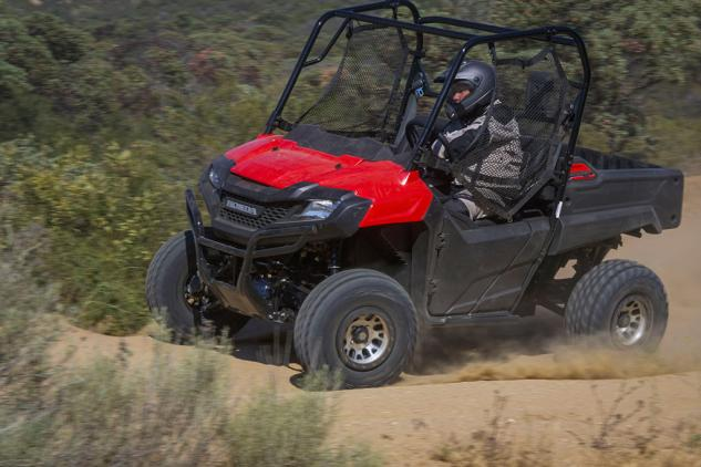 Honda Pioneer 700 Action Left