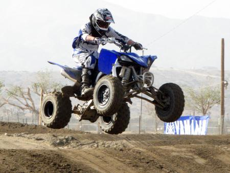 If you're in the market for a new sport quad, you've got to take the YFZ450R for a test run.