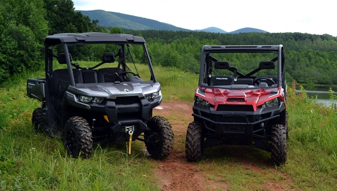 2017 Can-Am Defender HD10 XT vs  Polaris Ranger XP 1000 EPS